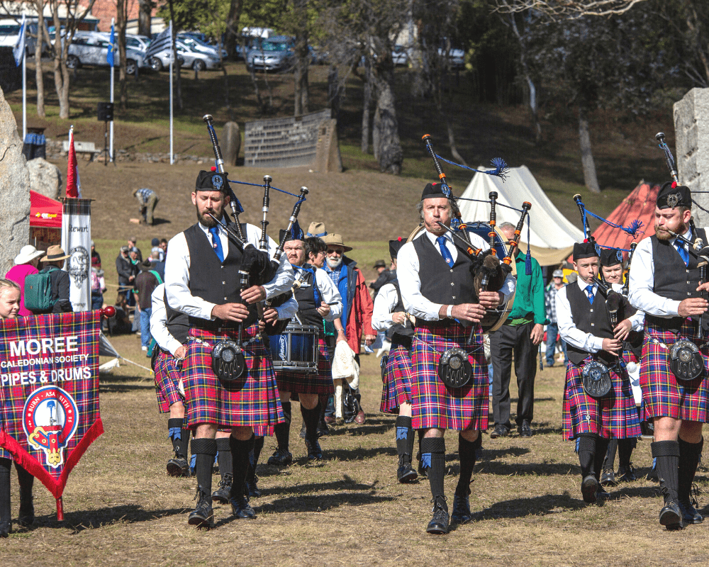 Moree Caledonian Society Pipes & Drums